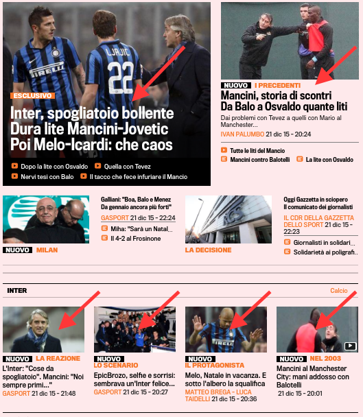 Gazza Crisi Inter 21 dic 2015