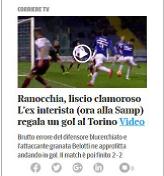 Corriere 4 Feb 2016 Ranocchia