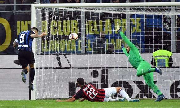 Calcio: Serie A; Inter Milan-AC Milan